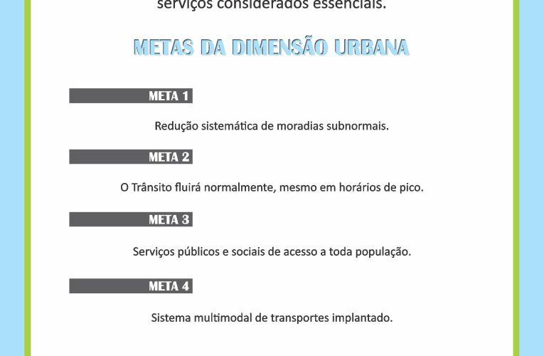 DIMENSÃO URBANA E SUAS METAS