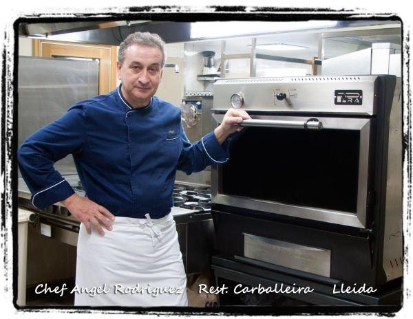 Restaurante Carballeira - Horno de brasa Pira 50 inox