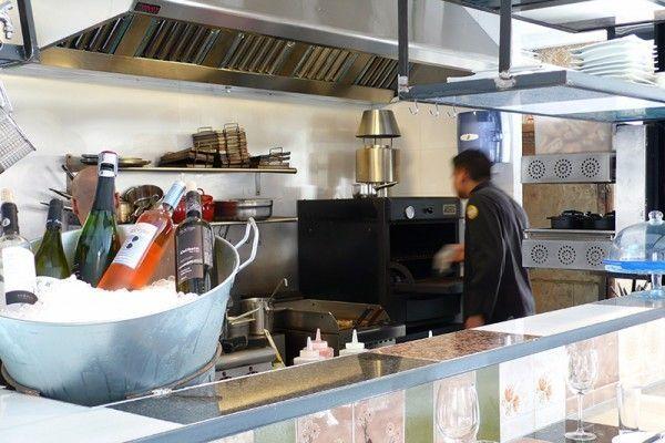 Horno brasa Pira 48 black - Restaurante Somorrostro