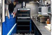 Horno brasa Pira 45 LUX black - Cafetarium