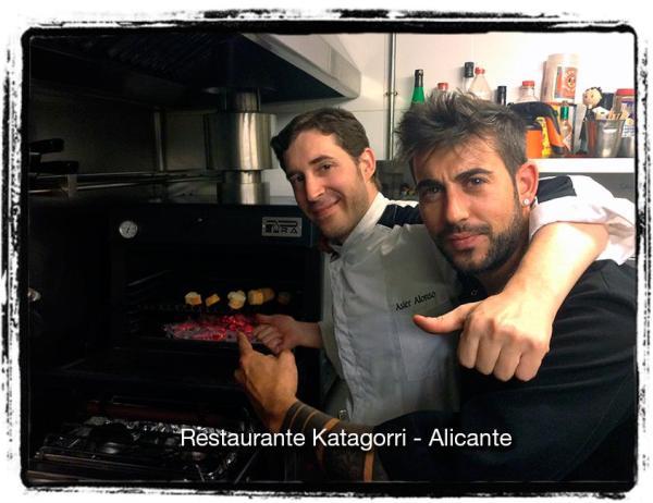 Horno brasa Pira 45 lux black - Restaurante Katagorri