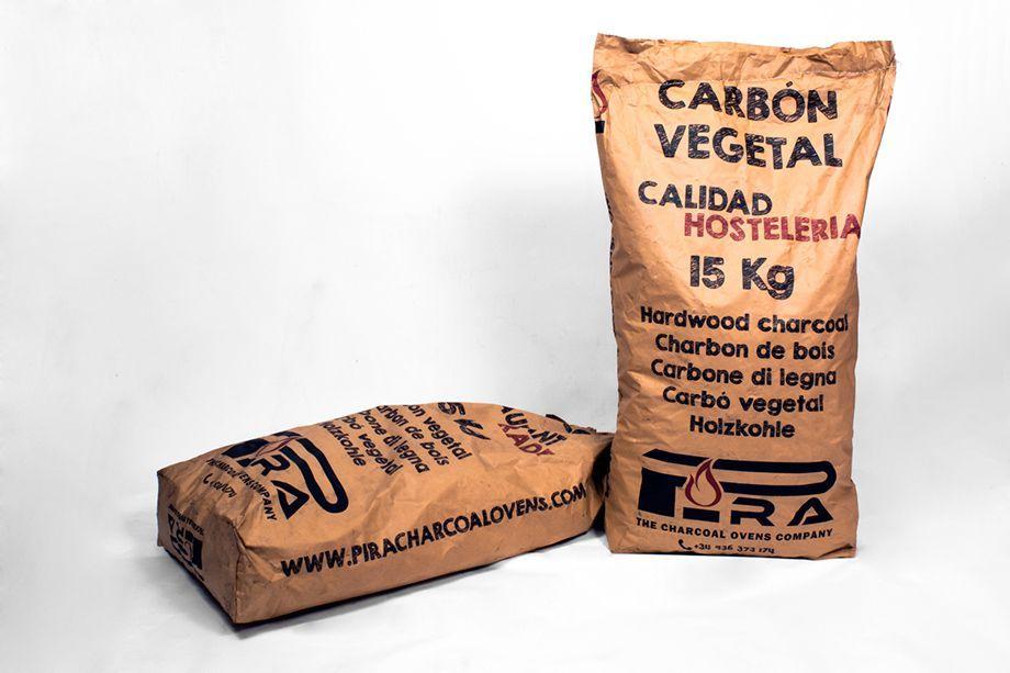 Carbón Vegetal Pira - saco 15 Kg