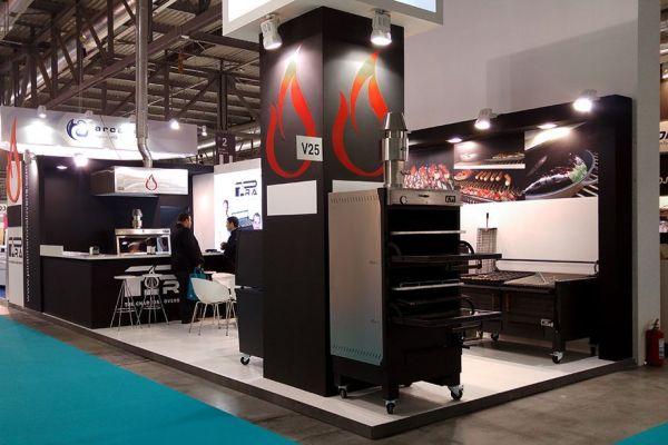 Pira Charcoal Ovens - Host Milan 2015