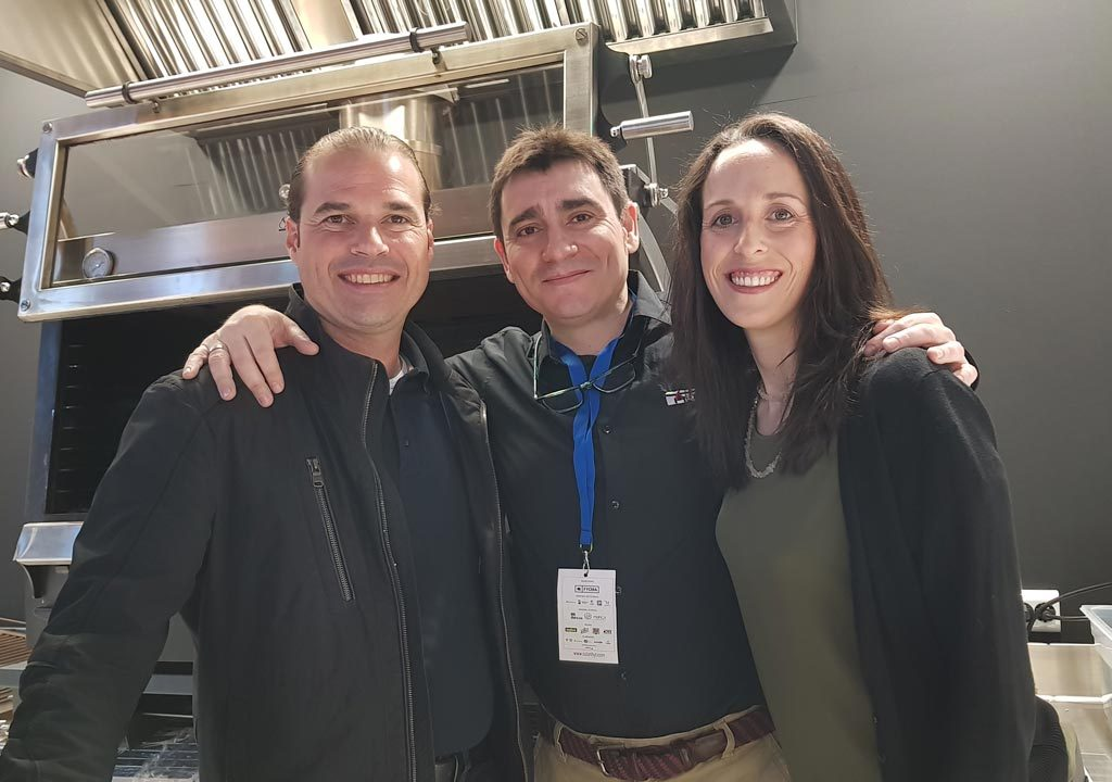 Xavier Bas with friends at HYT 2019