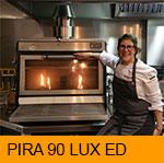 Rakel Cernicharo with her PIRA 90 ED Charcoal Oven