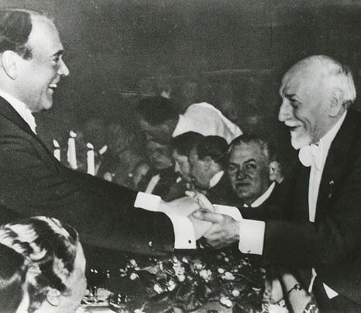 Premio Nobel a Luigi Pirandello il 10 dicembre 1934 - Festeggiamenti