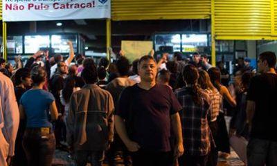 Foto: Manifestantes - Face book.