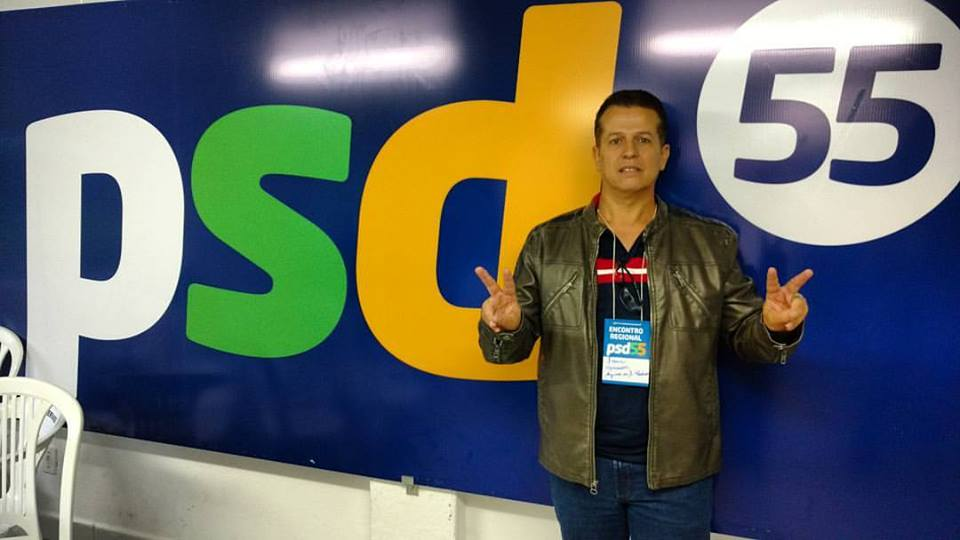 Ivan Barbosa em um encontro regional do PSD (Reprodução / Arq. Pessoal)
