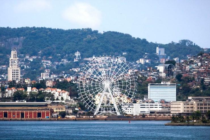 Rio de Janeiro Inaugura Hoje Maior Roda-Gigante da América Latina