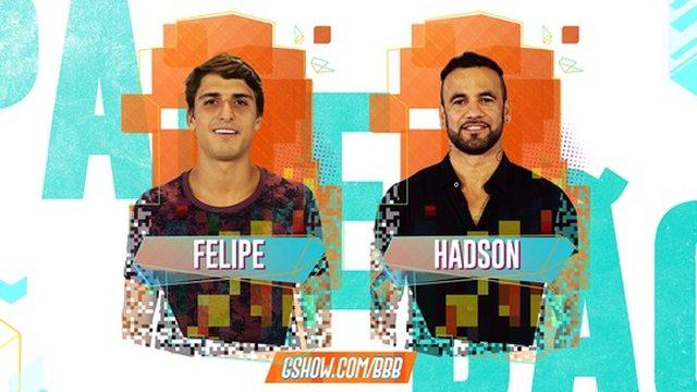 Enquete BBB20 Felipe ou Hadson