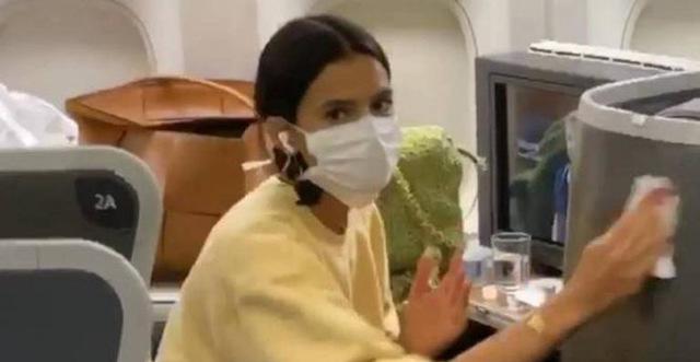 Bruna Marquezine faz teste contra coronavírus (Foto: Reprodução)