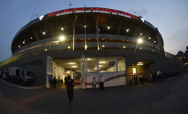 São Paulo x LDU Fase de grupo da Libertadores