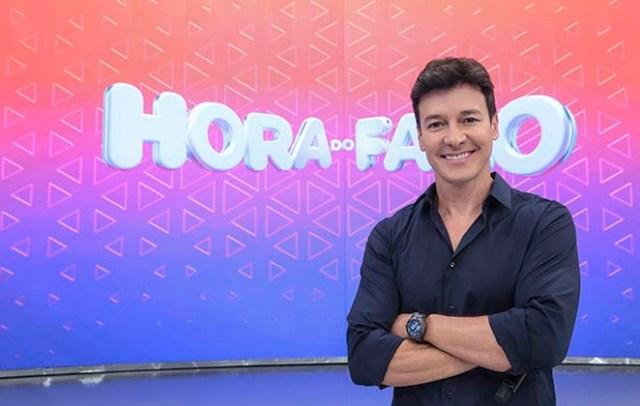 """Rodrigo Faro é dado como """"plano B"""" para substituir programas de Gugu (Foto: Record)"""