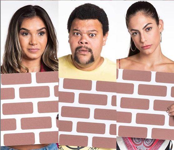 vote na enquete bbb20 em mari babu ou gizelly e veja quem sai no paredão