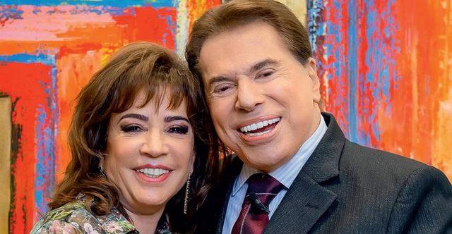 Iris Abravanel e Silvio Santos