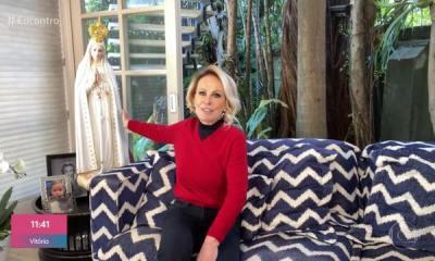 Ana Maria Braga agradece cura do câncer
