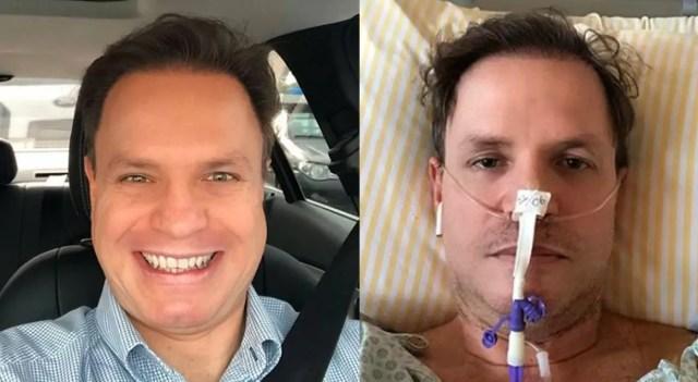 Ex-Polegar Alan Frank deixa hospital após se curar da Covid-19 ao som de 'Dá Pra Mim'