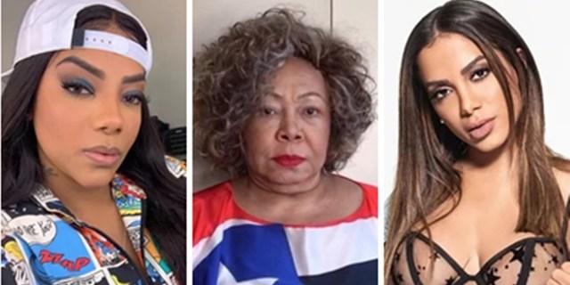 Alcione e outros famosos saem em defesa de Ludmilla após ataque racista