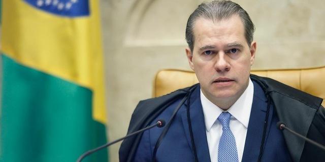 uma foto do presidente Dias Toffoli