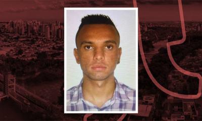 Na imagem há uma foto de Paulo César, acusado de sequestro.
