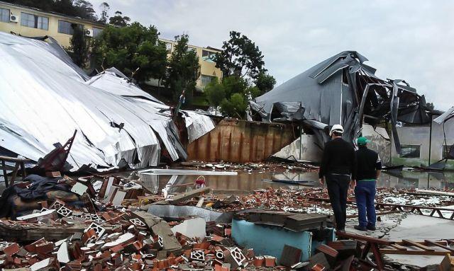Atualização: chega a nove o números de mortes devido a ciclone que atingiu Região Sul