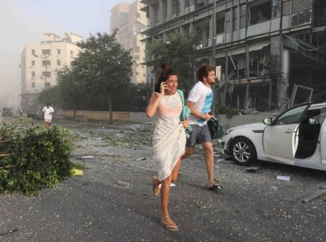 Grande explosão atinge Beirute e deixa ao menos 10 mortos