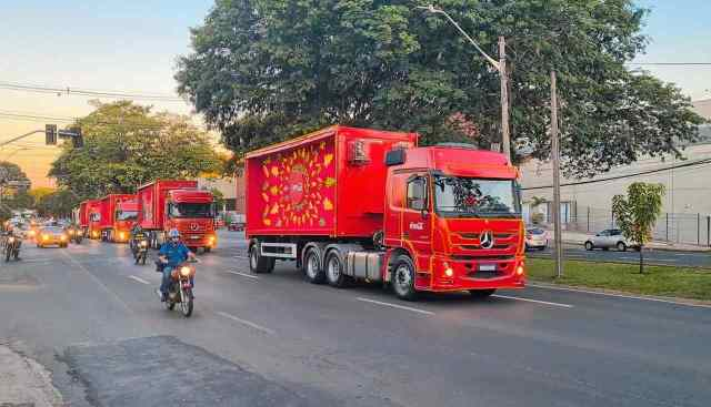 Carreata Coca-Cola passa por Piracicaba e encanta nesta segunda-feira (23)