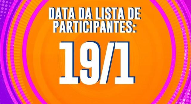 Lista de Participantes do BBB21