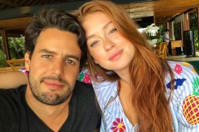 Marina Ruy Barbosa e Alexandre Negrão