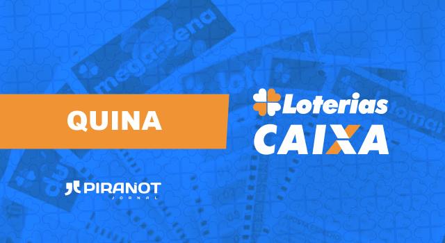 Resultado ao vivo da Quina 5481 de hoje (01/02); concurso vale R$ 700 mil