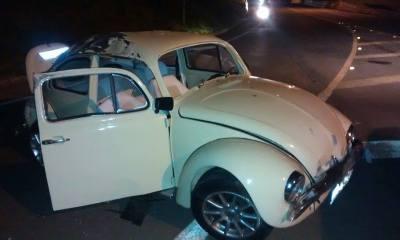 Carro tinha acabado de ser roubado, segundo policial - Foto: Valter Martins / Piracicaba em Alerta