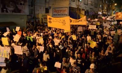Imagem das manifestações em Americana em 2013 - Foto: Reprodução