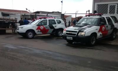 Polícia Militar, Perícia e Samu estiveram no local - Foto: Valter Martins / Piracicaba em Alerta