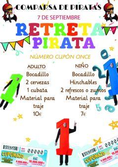retreta pirata 2019 | Piratas Villena