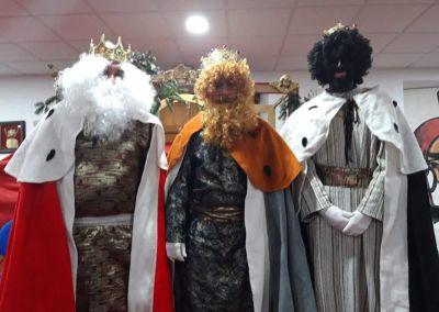 Visita de los Reyes Magos