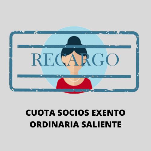socioExentoSaliente recargo | Piratas Villena