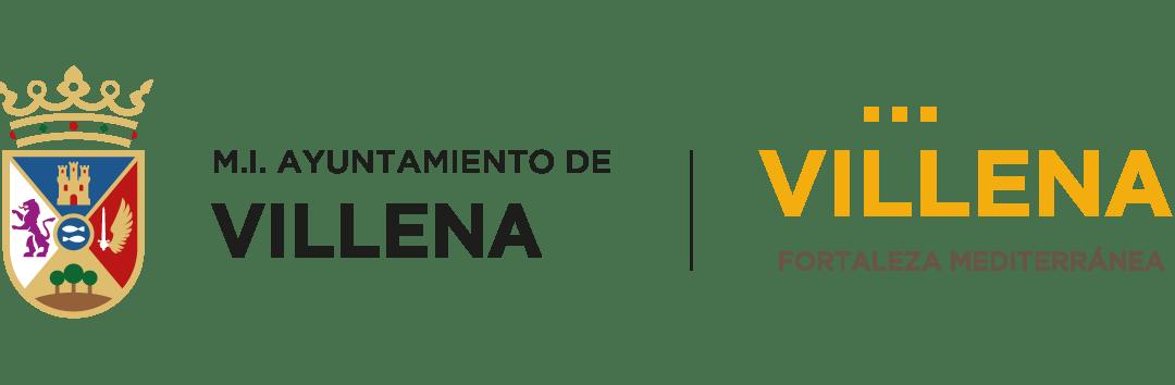 escudo AYTO con marca villena positivo | Piratas Villena