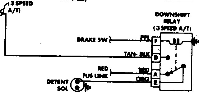 Th400 Kickdown Wiring Diagram Database