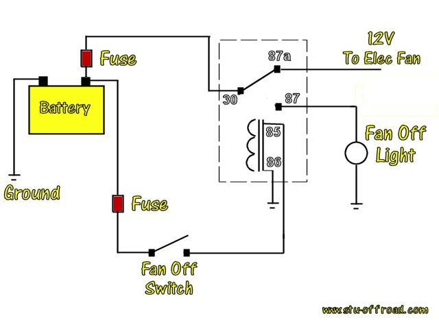 how to wire a relay diagram 3 way switch pilot light wiring diagrams pirate4x4 com 4x4 and off road forum