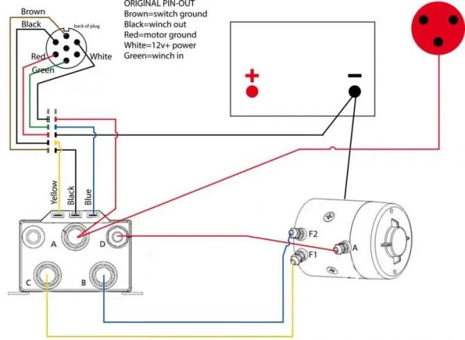 diagram power winch solenoid wiring diagram full version hd