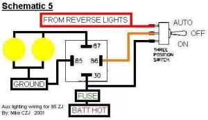 Auxillary reverse lights wiring question  Pirate4x4Com