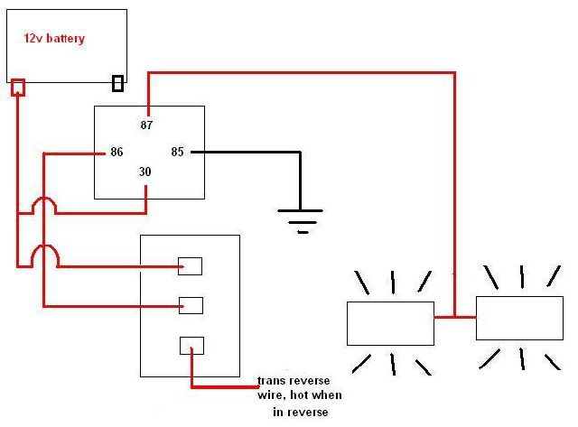 reverse light wiring diagram john deere lawn tractor lt155 auxillary lights question pirate4x4 com 4x4 and attached images