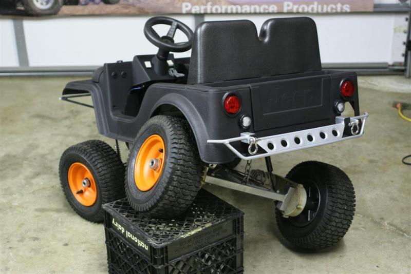 Power Wheels Jeep Buildup Page 3 Pirate4x4com 4x4 And Offroad