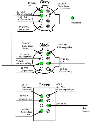 89 Mustang Ecu Wiring Diagram Ford. Ford. Auto Parts