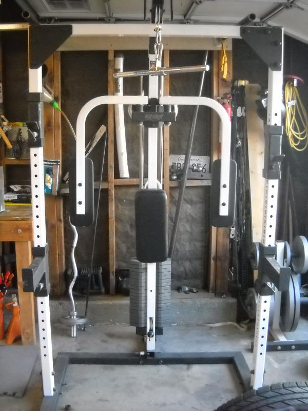 Feeler Tuff Stuff Half Cage Work Out Equipment