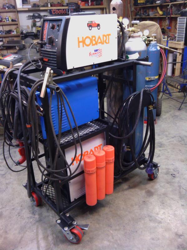 Miller 211 Welding Cart