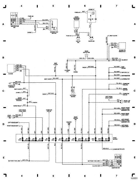 1987 suzuki samurai alternator wiring