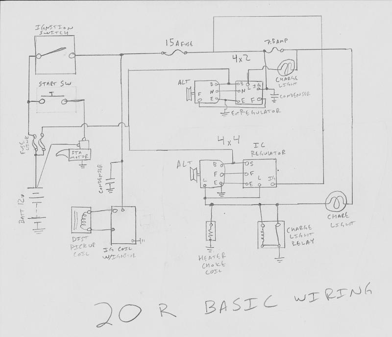 toyota 22r engine wiring diagram