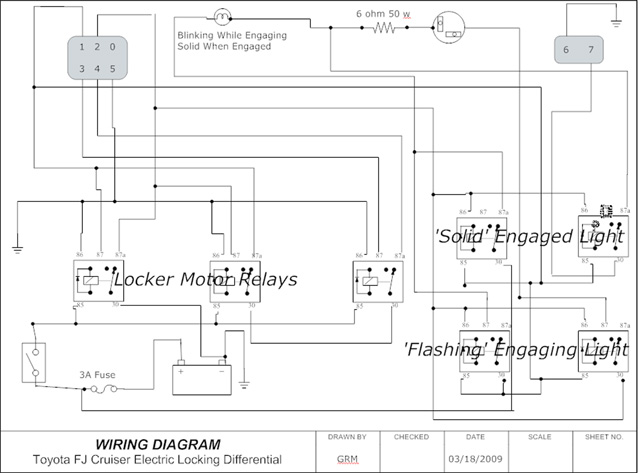 Toyota E Locker Wiring Harness Toyota E Locker Wiring Diagram