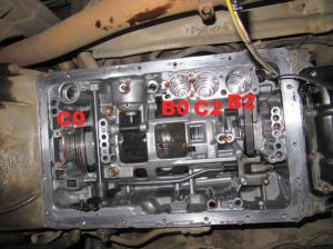 1990 A340H automatic transmission valve body writeup